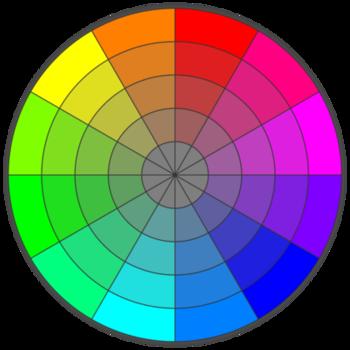 ryb color wheel information. Black Bedroom Furniture Sets. Home Design Ideas